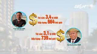 VTC14 | Tỷ phú Phạm Nhật Vượng vượt Tổng Thống Trump về độ giàu có