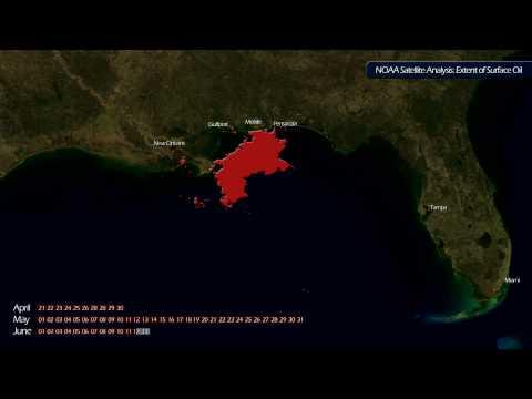 2010.06.14 - Gulf Oil Spill Surface Analysis [1080p]