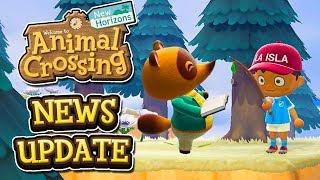 Animal Crossing New Horizons NEWS UPDATE - NEW SCREENSHOTS + NEW INFO SOON?