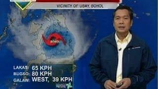 Saksi: Bagyong Basyang, 5 beses nag-landfall