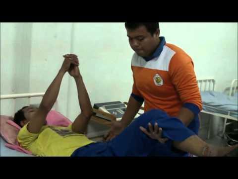 Bobath Exercise for stroke (mahasiswa/i univ.abdurrab pekanbaru)