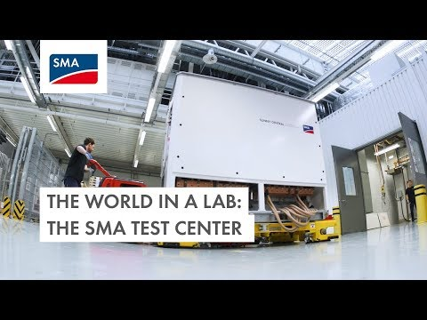 The world in a lab – the SMA test center