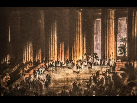 The Restoration of King Solomon's Temple: A Magic Lantern Show