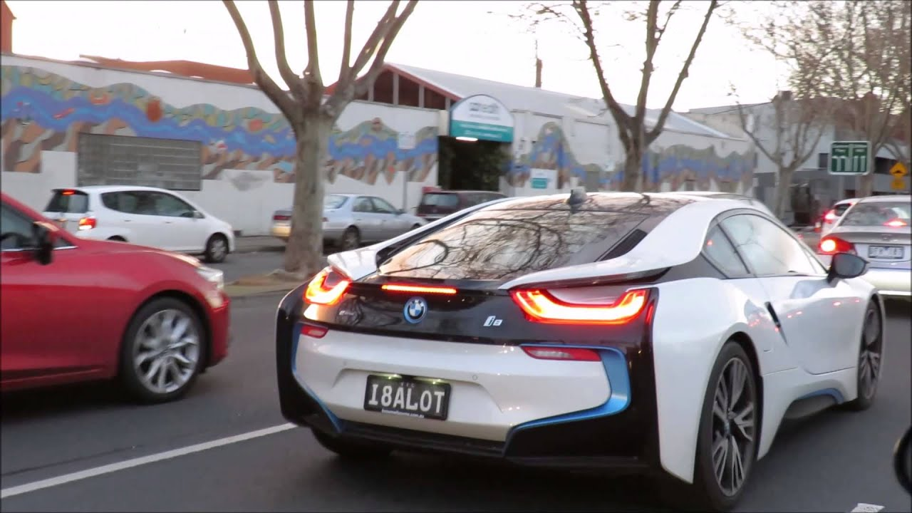 Unique Bmw I8 In Melbourne Youtube