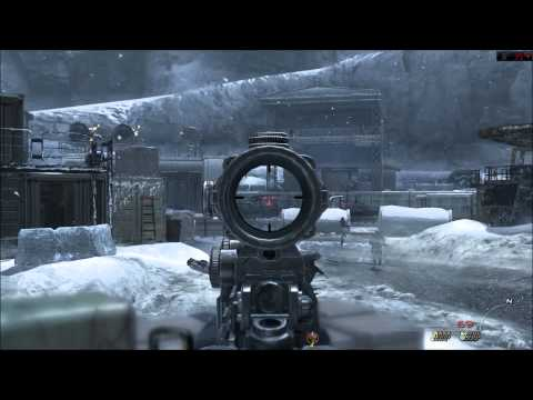 Call of duty: Modern Warfare 3 single player campaign siberia mine level complete gameplay