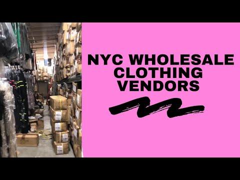 PART 1: NYC WHOLESALE CLOTHING VENDORS