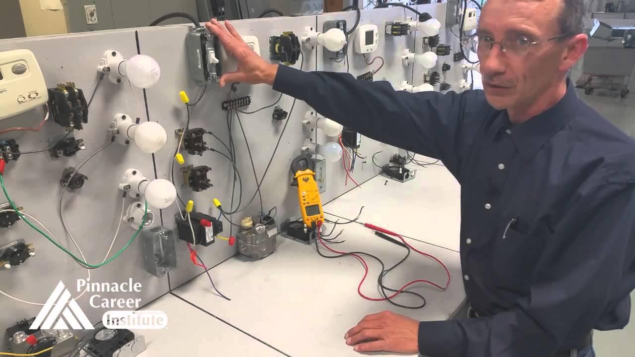 Hvac Thermostat Control Circuit Youtube Basic Wiring