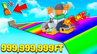 ROBLOX SLIDE 999,999,999 FEET TO WINNERS