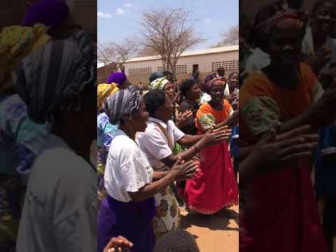 Warm welkom op school Malawi