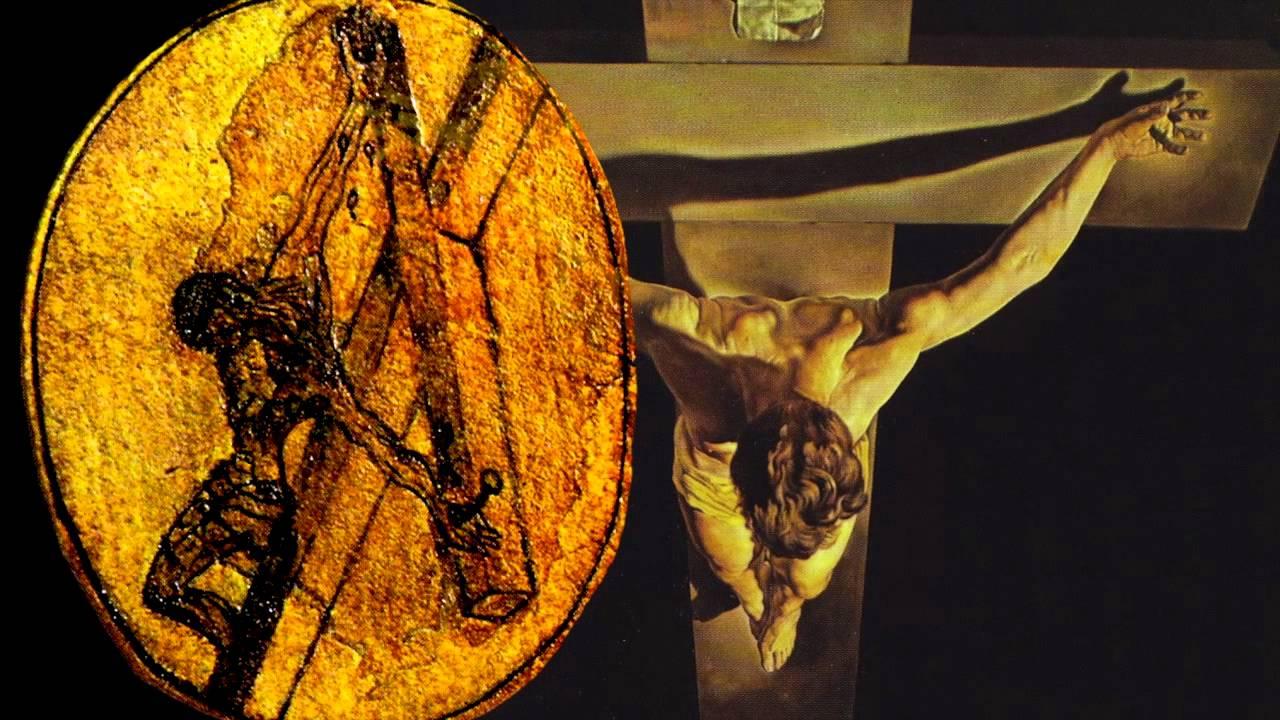 salvador dali christ of st john of the cross Christ of st john of the cross, which usually hangs in glasgow's kelvingrove art gallery, is prepared for transportation.