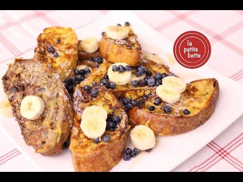 recette-de-pain-doré-(pain-perdu)-matinal