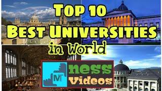 Top 10 Best Universities in World 2018 | Best Universities in World | MTness Videos