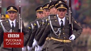 Военный парад в Киеве: марш по Майдану