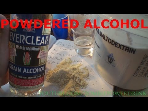 Make Powdered Alcohol