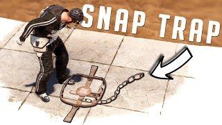 RUST - SNAP TRAPPING Unaware HUMANS And Making Bank - Trap Base