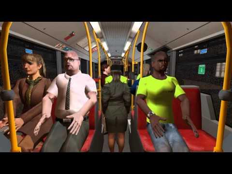 Omsi Bus Simulator 2 Hamburg Day and Night - Winter -  Linie 109