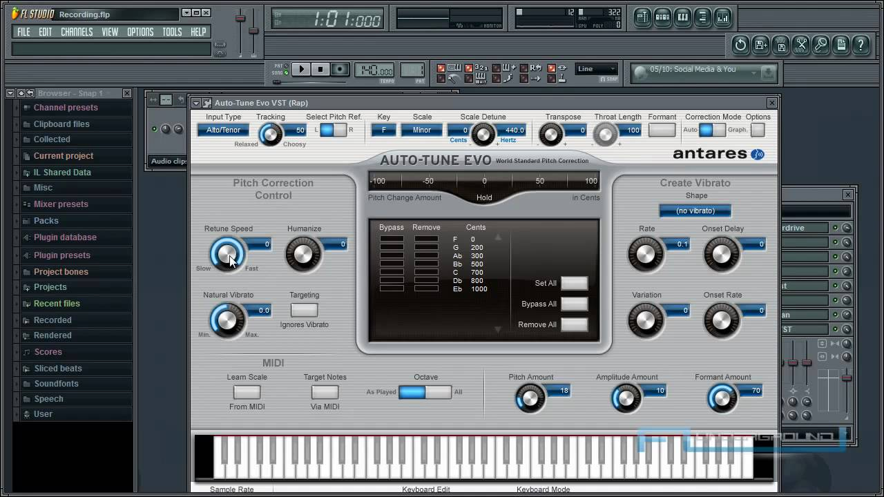 Auto Tune Efx T Pain Effect