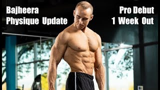 BajheeraIRL - November 2018 Physique Update #1 (180 lbs) - 1 Week Out from Natural Pro Debut! :D
