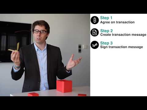 Blockchain for Dummies - Part 2 - Bitcoin transactions