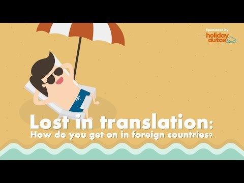 Holiday Autos - Lost in Translation