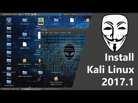 ♦♦ How To Install Kali Linux 2017.1 In Virtualbox | HD ♦♦