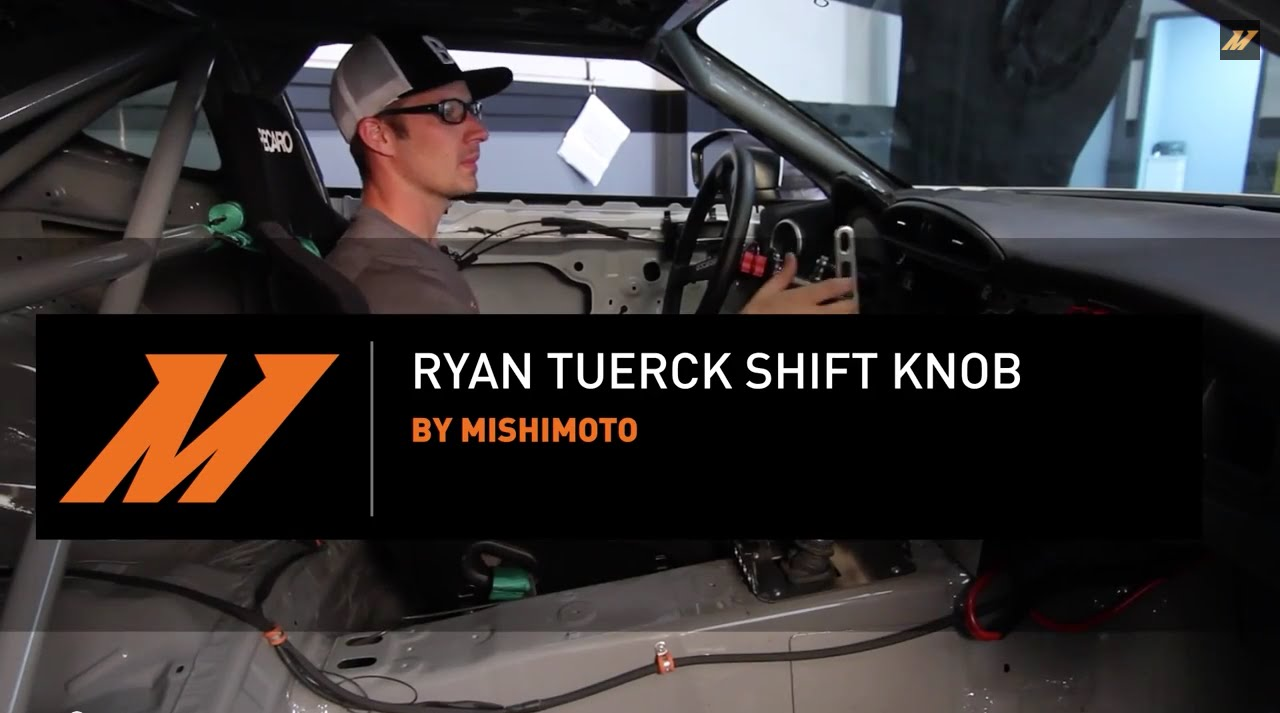Limited Edition Ryan Tuerck Shift Knob Installation Guide