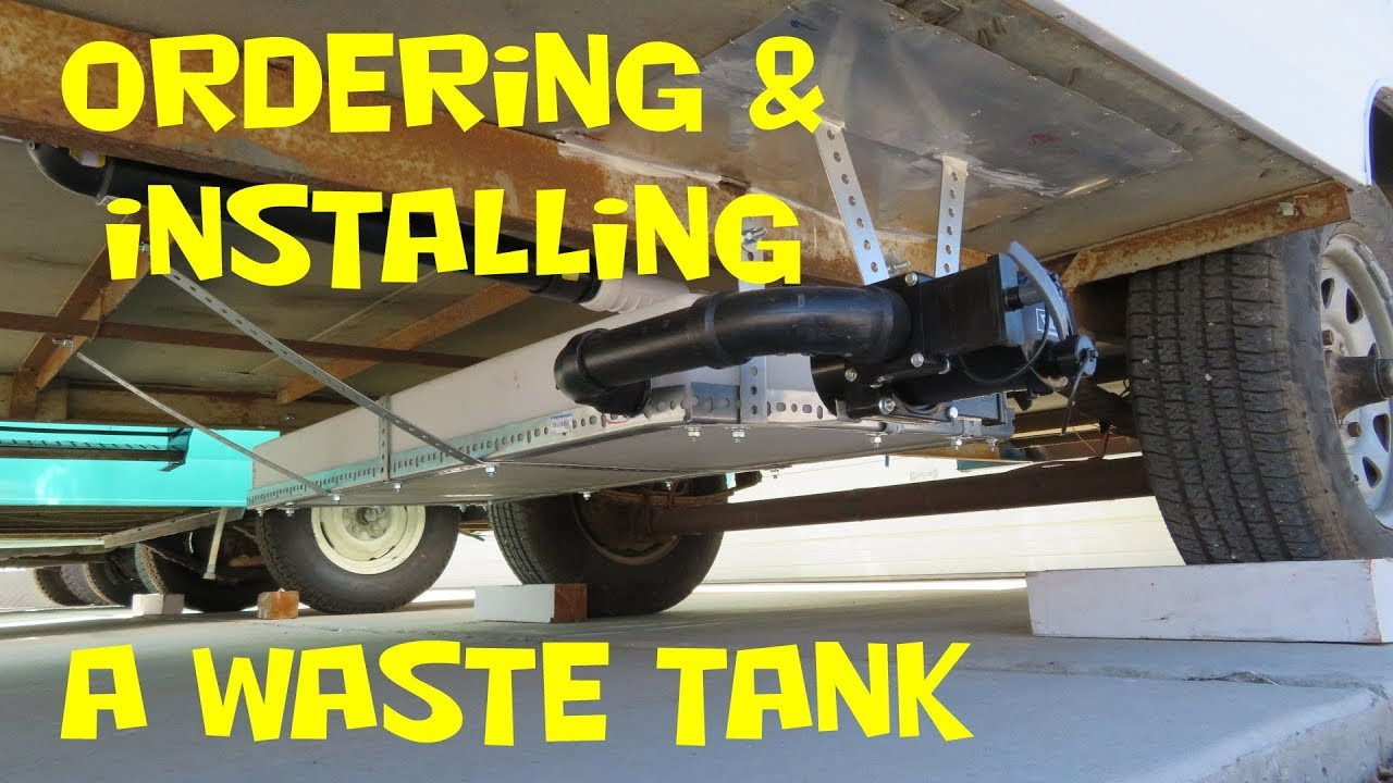 ordering and installing a gray water tank - part 1
