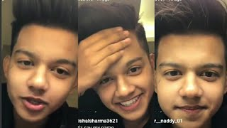 Riyaz New live on Instagram with riza afreen on 27 April 2019 | Instagram live