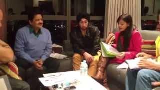 Udit Narayan Rehearsing- Radha For A Concert
