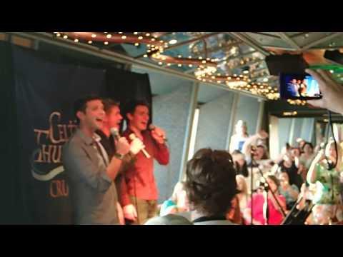 Celtic Thunder Cruise Karaoke with Neil - Piano Man