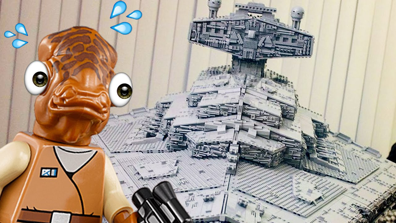 This Lego Star Destroyer Will Make You S Bricks Up At Noon Live