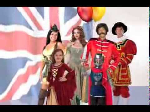 British Costume Fancy Dress Party Ideas