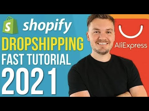 Shopify Dropshipping Tutorial For Beginners 2020 (FAST Under 15 Minutes!) thumbnail