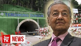 Dr M: Khazanah to sell unused assets to pay debts, up to MACC to investigate ECRL