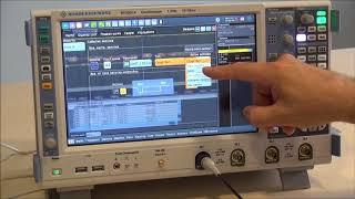 Осциллограф Rohde&Schwarz RTO2014  Последовательный протокол. Синхронизация и декодирование T&D