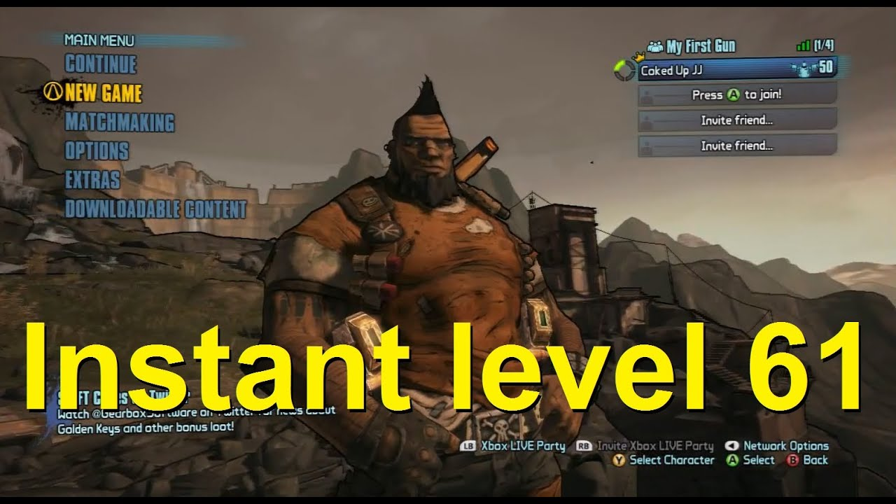 all cheats for borderlands 2 on xbox 360