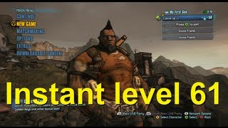 borderlands 2 instant level 61 glitch any character