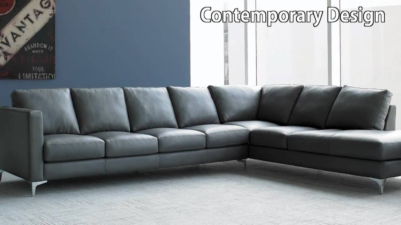 American Leather Kendall Sofa Set - American Leather Furnitureu0027s Anniversary Collection - YouTube : american leather sectional prices - Sectionals, Sofas & Couches