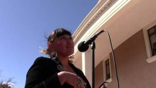 Santa Fe Indian Center - Moral Monday @ New Mexico State Capitol - Jaclyn Roessel