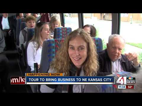 Developers take bus tour down Independence Avenue