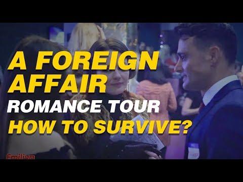 A Foreign Affair Romance Tour - How to survive