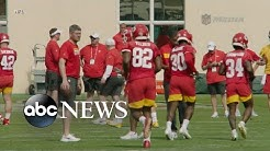 Countdown to kickoff for Super Bowl 54 between 49ers and Chiefs
