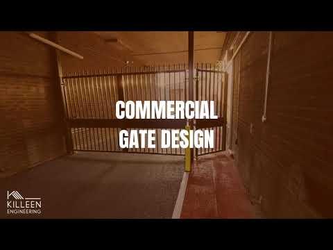 Killeen Engineering Commercial Gate Design