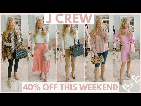 FALL OUTFITS FROM JCREW ON SALE! | Amanda John