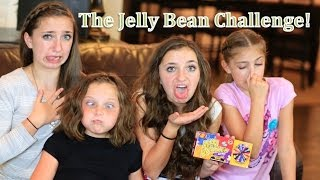 The Gross-Out Jelly Bean Challenge | Brooklyn and Bailey