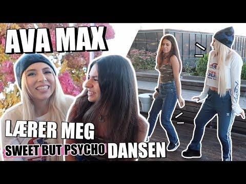 AVA MAX lærer meg å danse til