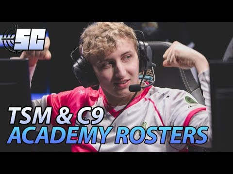 TSM and Cloud9 Announce Academy Roster  Get Boosted Highlight  LoL esports