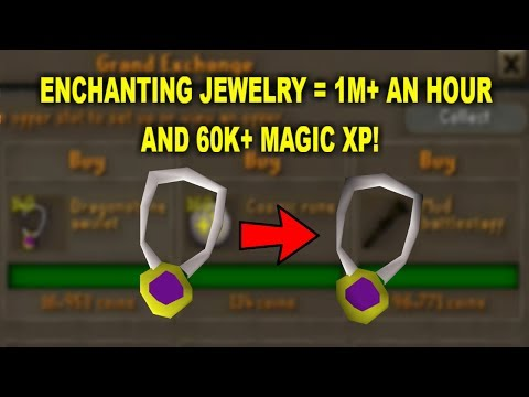 OSRS - Up To 1700k An Hour While Training Magic! Oldschool Runescape Money Making Guide
