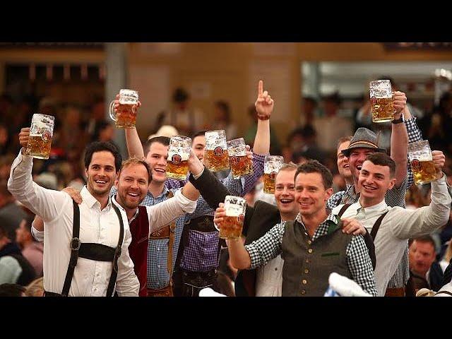 Bavarian beer binge begins