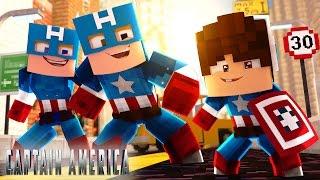 Minecraft: WHO'S YOUR FAMILY? - O BEBÊ DA FAMÍLIA CAPITÃO AMÉRICA QUER SER HERÓI!!